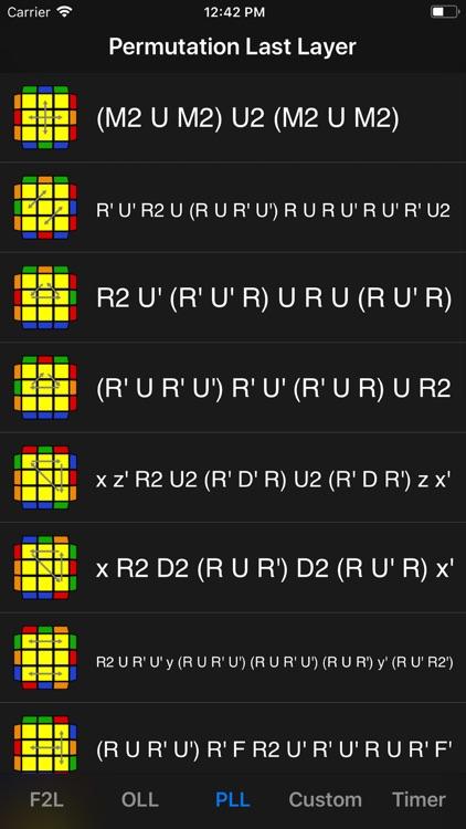 Cube Algorithms Pro screenshot-3