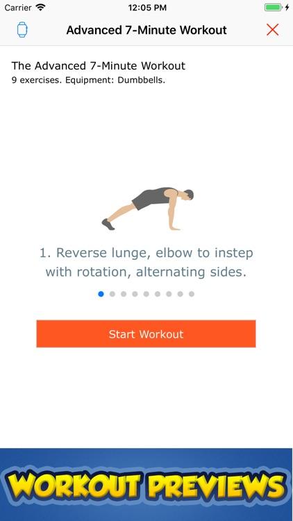 7-Minute Workout Guide screenshot-3