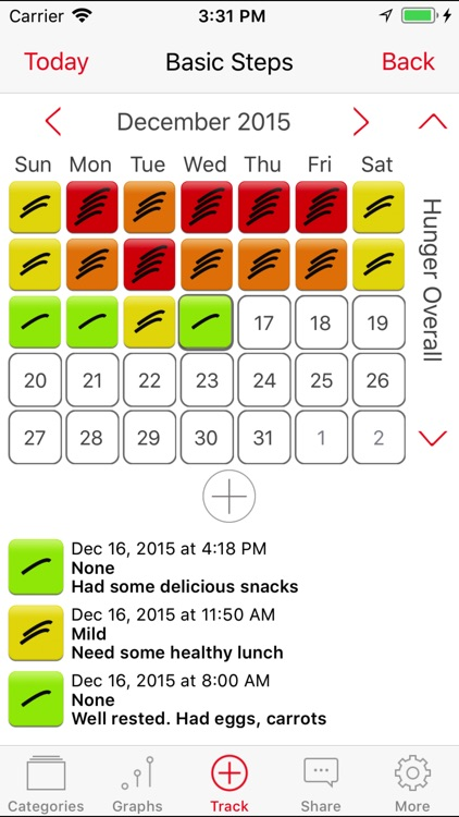 Mindful Eating Tracker screenshot-3
