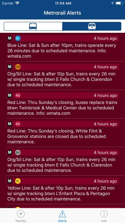 DC Mass Transit • metro + bus screenshot-5