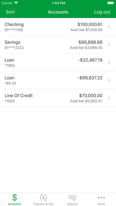 Associated Bank Mobile review screenshots