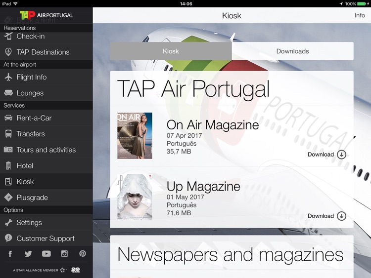 Air Portugal for iPad screenshot-3