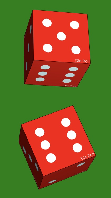 Die Roll - dice roller app