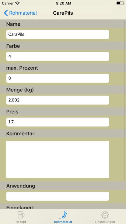 brauhelfer screenshot-4