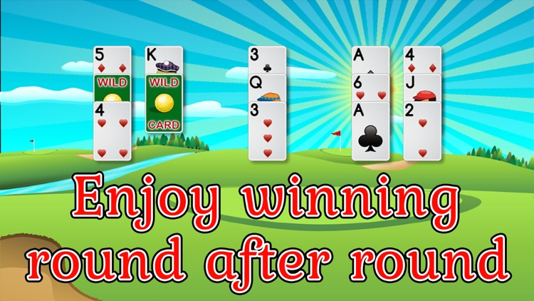 Golf Solitaire Pro! screenshot-2