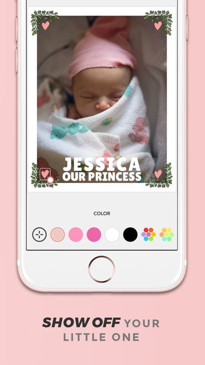 Adorable - Baby Pics Editor screenshot-4
