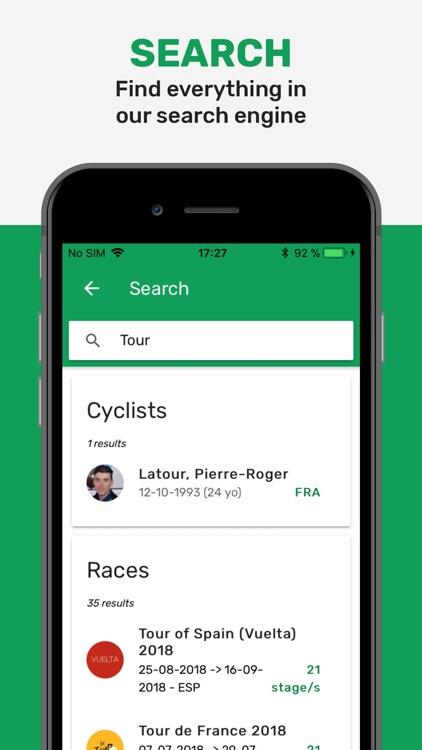 Cyclingoo: Pro Cycling Results screenshot-6