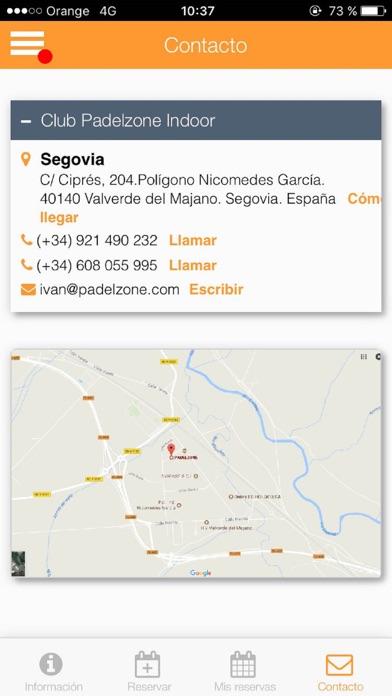Padelzone Segovia screenshot 2
