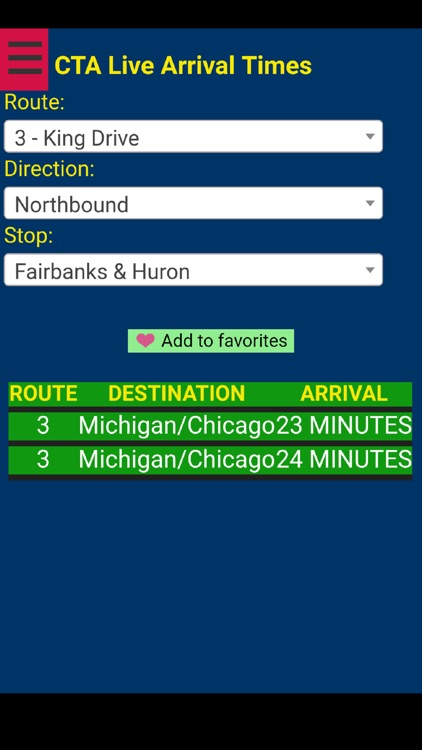 Chicago Cta Bus Tracker By Naiara Albaina