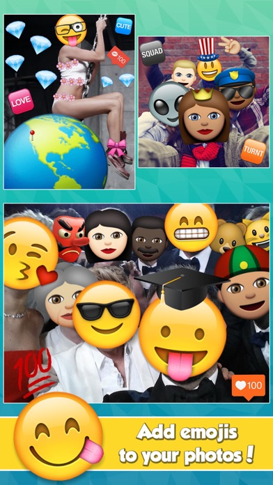 Insta Emoji Photo Editor - 窓用