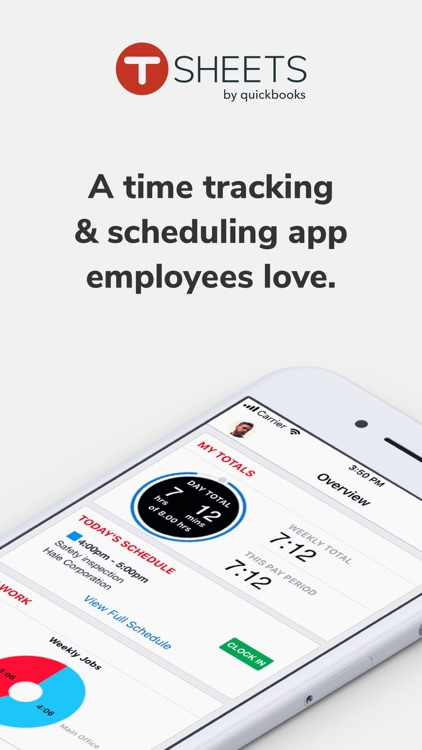 TSheets Time Tracker screenshot-0