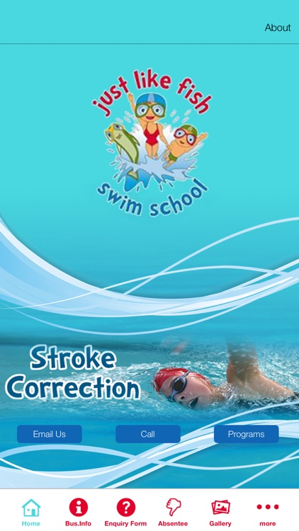 Just Like Fish Swim School