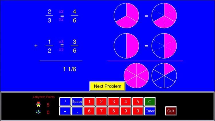 Math Galaxy Fractions Fun