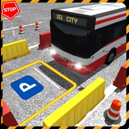 Real City Bus Parking Simulator 2017: Driver Test