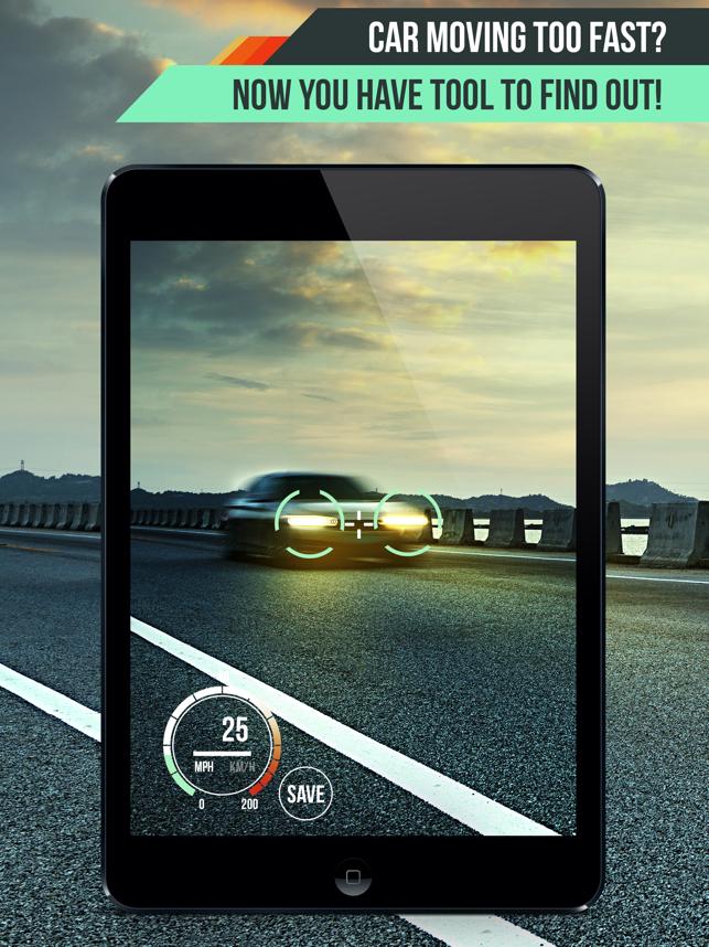 Speed Radar Gun PRO Screenshot