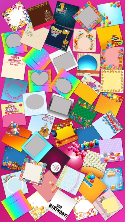 Birthday Cards and Frames