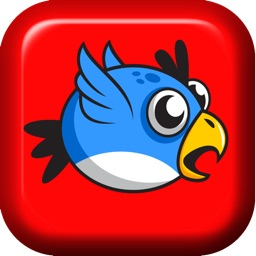Flappy Blue Bird Original- A clumsy Bird's impossible journey