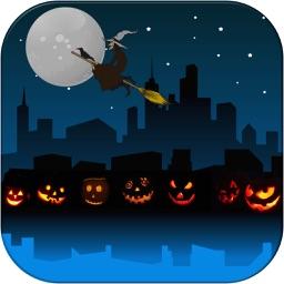 Throw Witch: Halloween Pumpkin