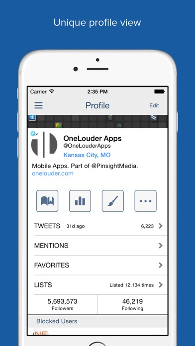 TweetCaster Pro for Twitter Screenshots