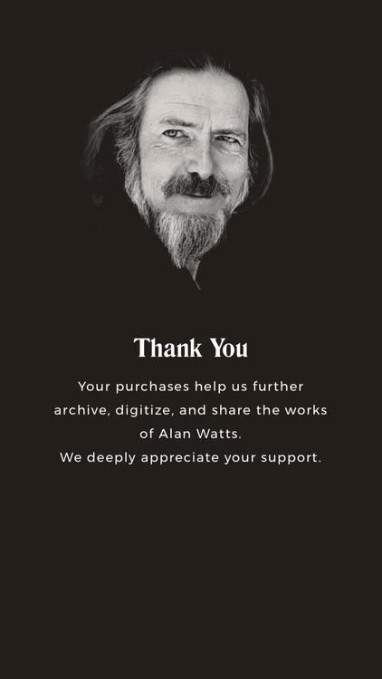 Alan Watts Essential Lectures screenshot-4