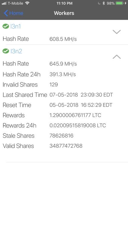 Litecoinpool Viewer screenshot-5