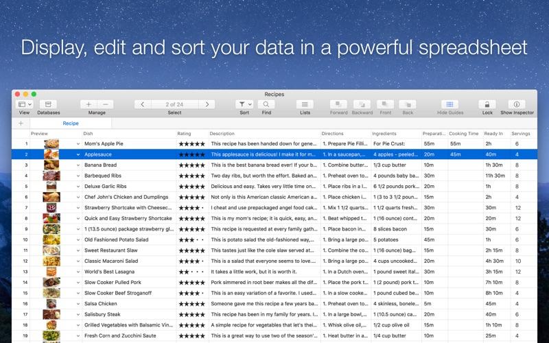 Records - Database & Organizer Screenshots