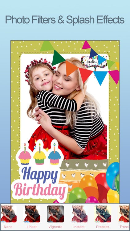 Happy Birthday Photo Frames FX