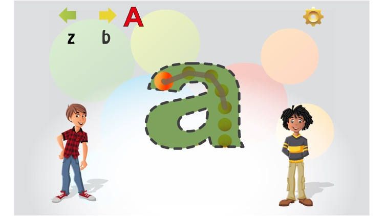 Trace English Letters
