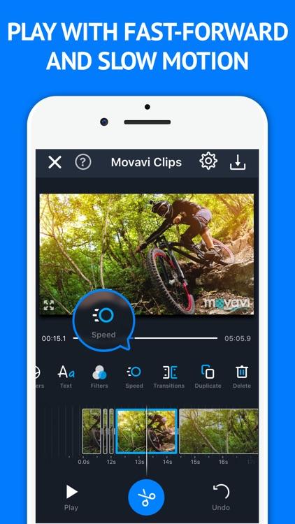 Video Maker Movavi Clips screenshot-3
