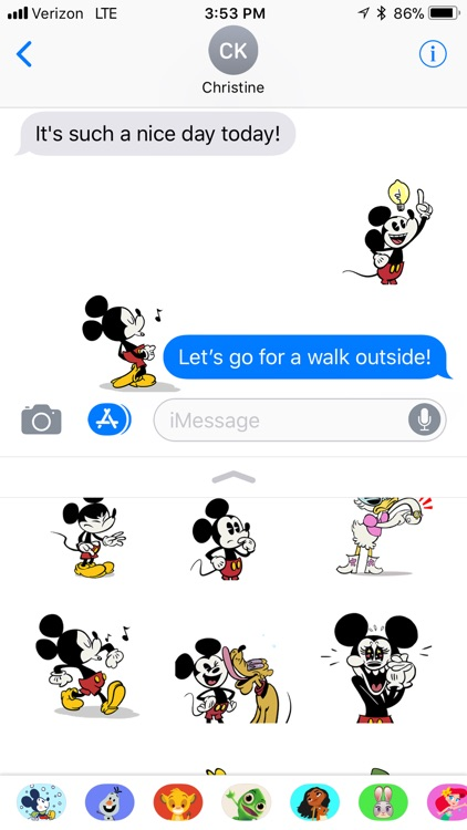 Disney Stickers: Mickey screenshot-4