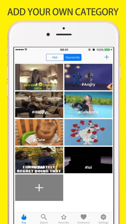 Gif Keyboard Emoji Photo Icons screenshot-3