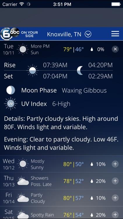 Knoxville Wx screenshot-3