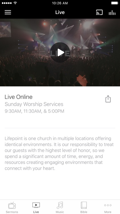 The Lifepoint App