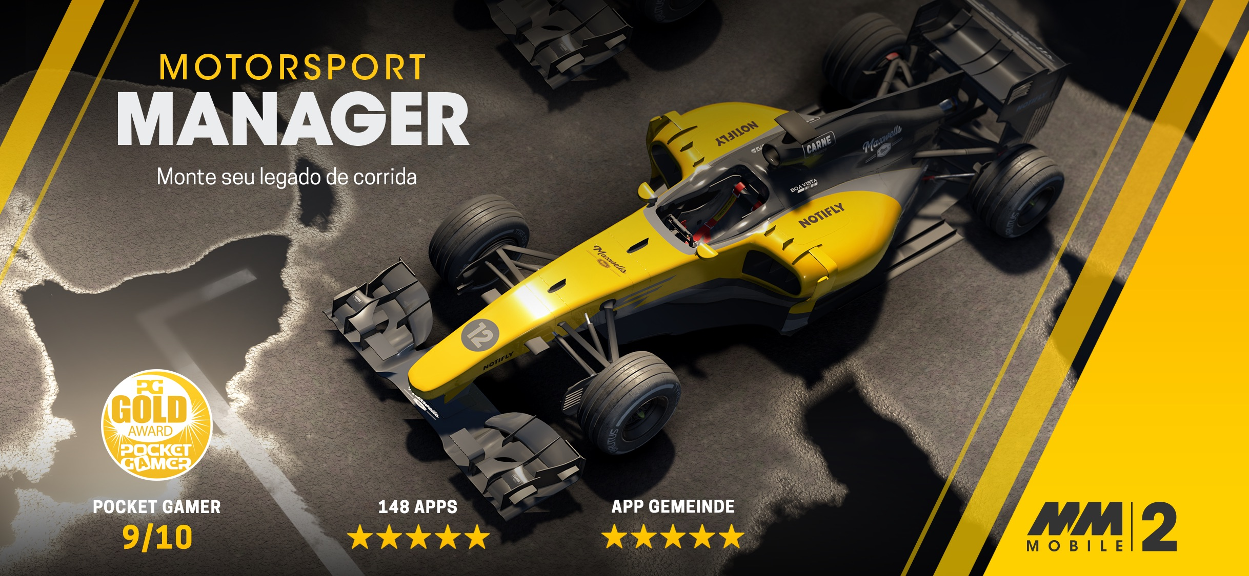 Screenshot do app Motorsport Manager Mobile 2