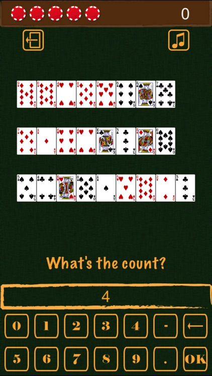 Blackjack Card Counting Practice screenshot-3
