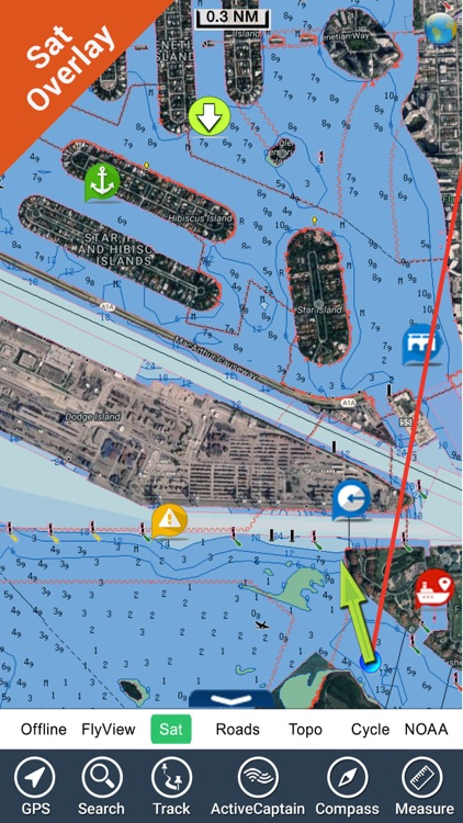 Boating USA GPS Nautical Chart