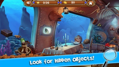 Find Lost Treasure Ocean screenshot one