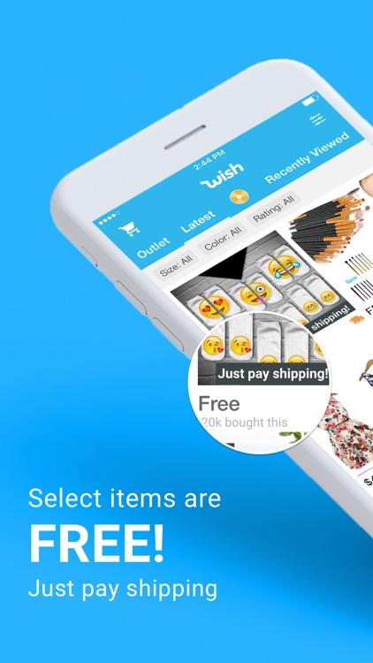 Wish - Shopping Made Fun screenshot-0