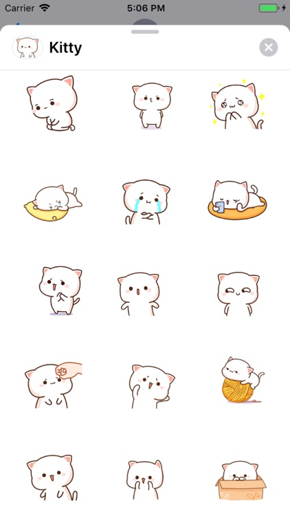 Kitty - Gif Cat Sticker Lovers screenshot-3