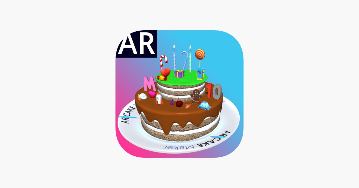 ar cake maker 3d をapp storeで