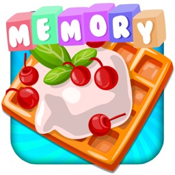 Memory Game with sweet cakes