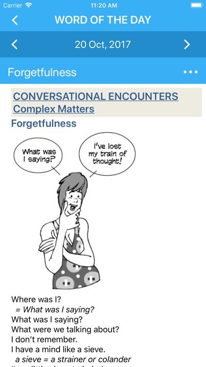 Conversational Am. English