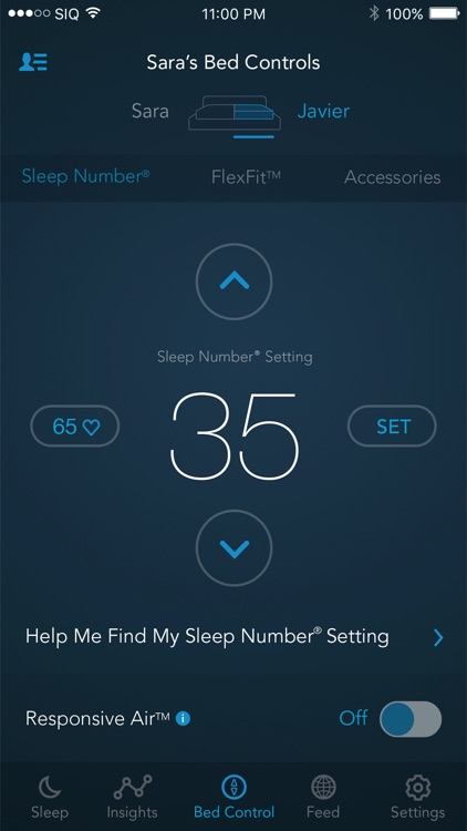 SleepIQ screenshot-3