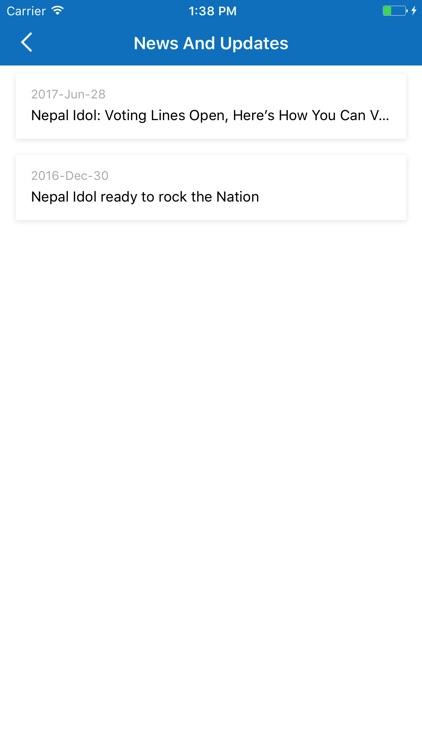 Nepal Idol screenshot-3