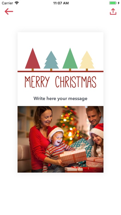 Christmas Card Maker 2018