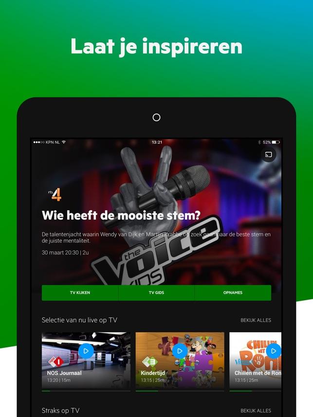 Kpn Interactieve Tv In De App Store