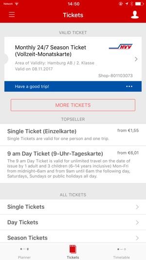hvv ticket