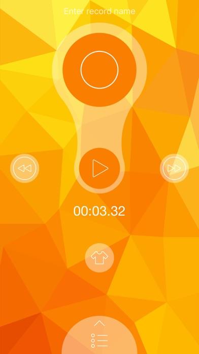 録音 PRO - ボイスレコーダー screenshot1