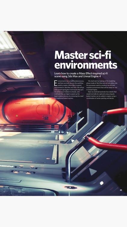 3D Artist Magazine: CG Art and 3D Inspiration screenshot-4