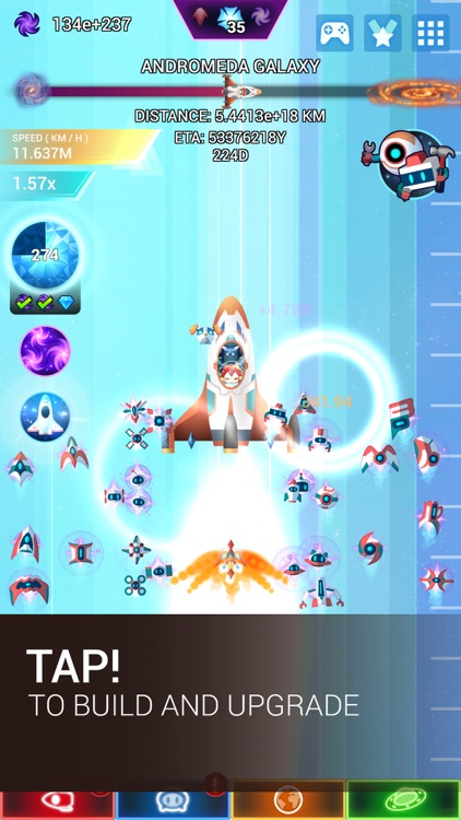 Star Tap - Idle Space Clicker